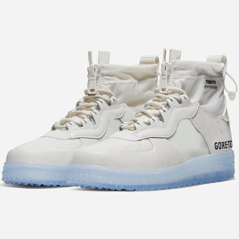 Le plus récent Hot 1 High Gore Tex Hommes Chaussures de course pour femmes Black Ice Phantom blanc Chaussures de sport Gore-Tex Chaussures de sport imperméables CQ7211-002 001