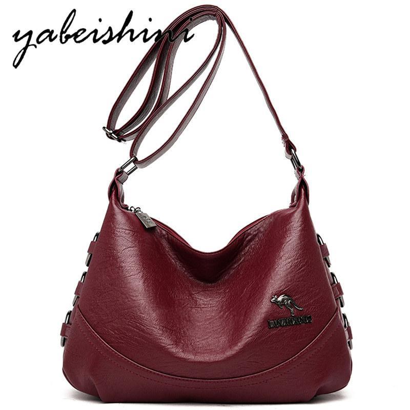 women bag Leather Shoulder bags for women 2019 Crossbody Bag Elegant ladies zipper ladies handbags Dumplings Sac A Main