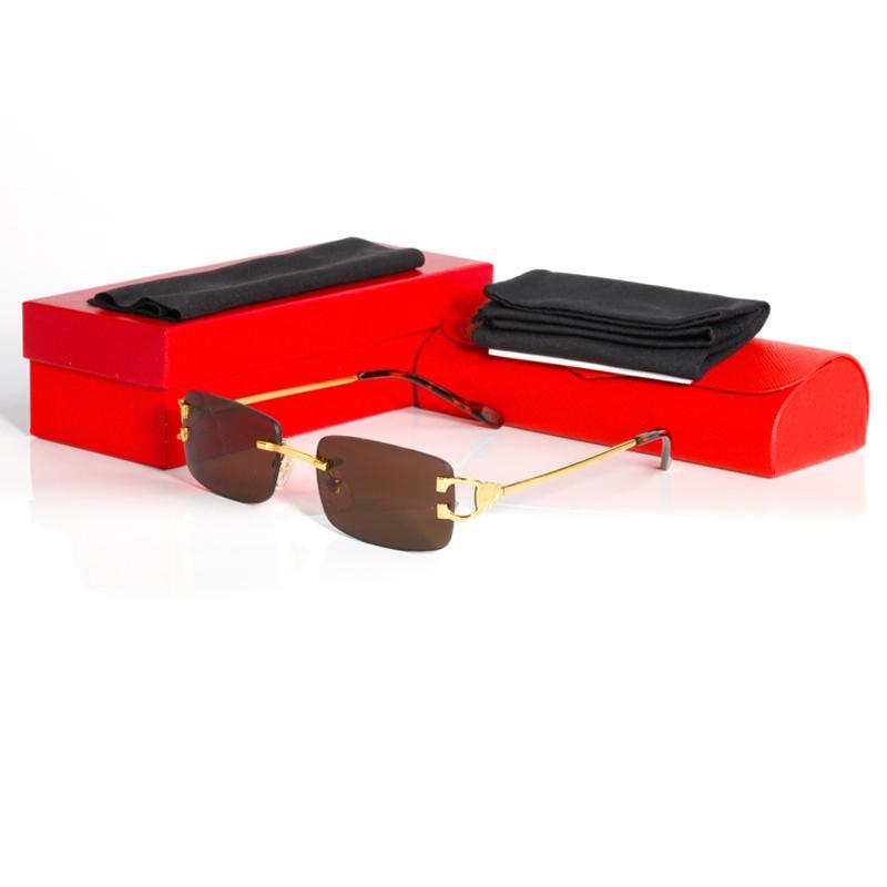 2020 femme de série de lunettes de soleil mode glasse vente chaud des hommes de lunettes de créateurs avec des lunettes de mode boîte cadres aviator