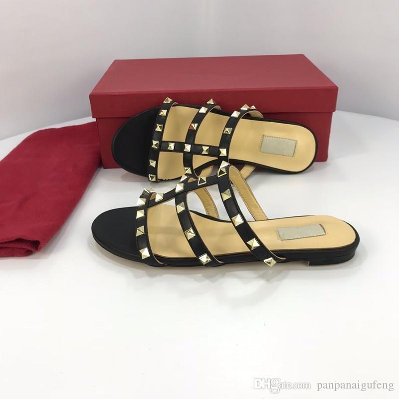 дизайнерские слайды роскошные женские сандалии роскошные тапочки вьетнамки Rihanna ace Женские сандалии нескользящие дизайнерские тапочки yz19012509