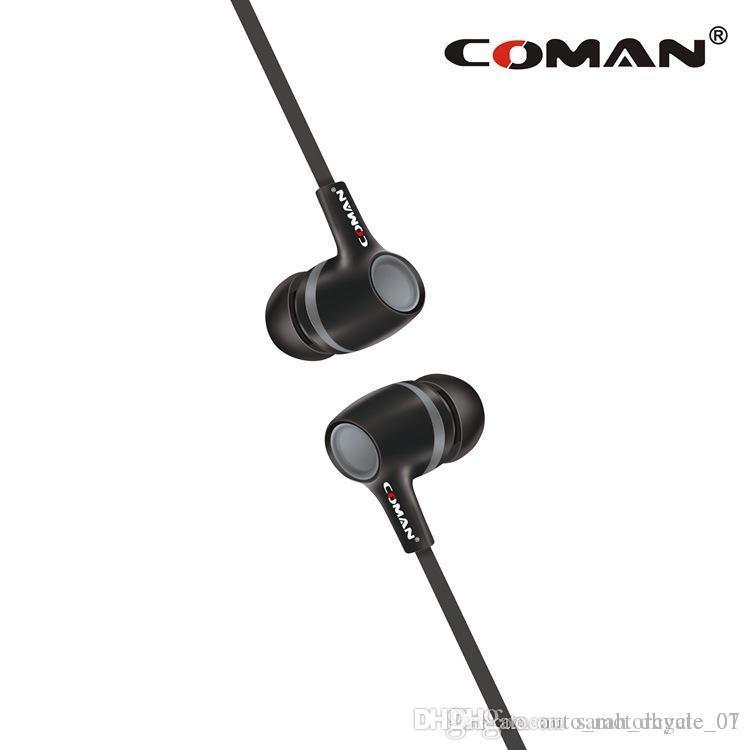 venta de la fábrica CM-38 auriculares de la marca de moda de movimiento del anillo de auriculares con micrófono del teléfono del auricular del oído para el coche iPhone