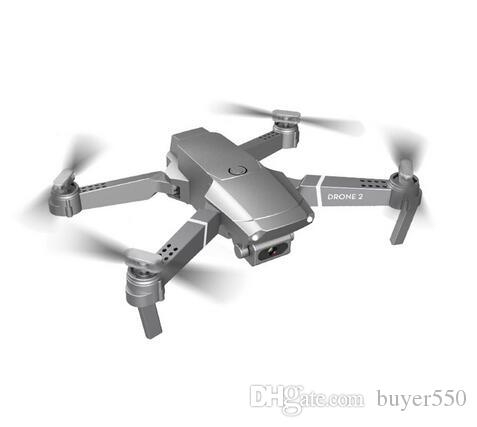 Mini E68 Drone 2.4G WIFI FPV With HD Camera Foldable RC Quadcopter Upgraded