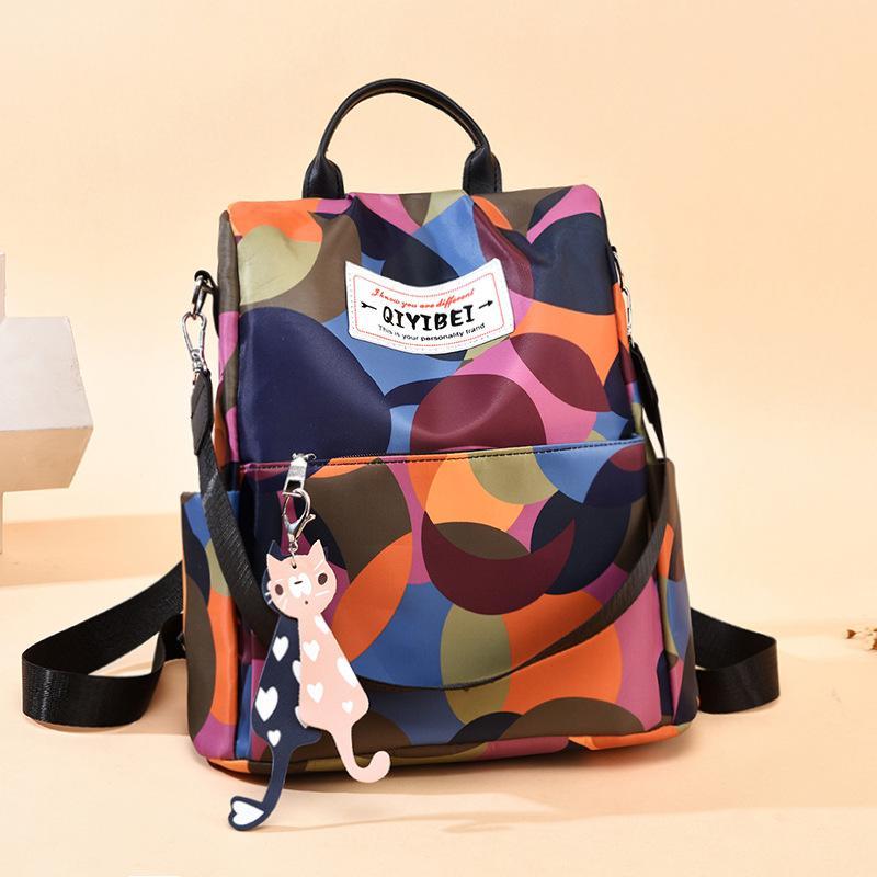 Горячие Продаем сумки на ремне, новая корейская версия наплыва Ткань Оксфорд холщовый мешок большой емкости Студентка Анти-Вор Женская сумка