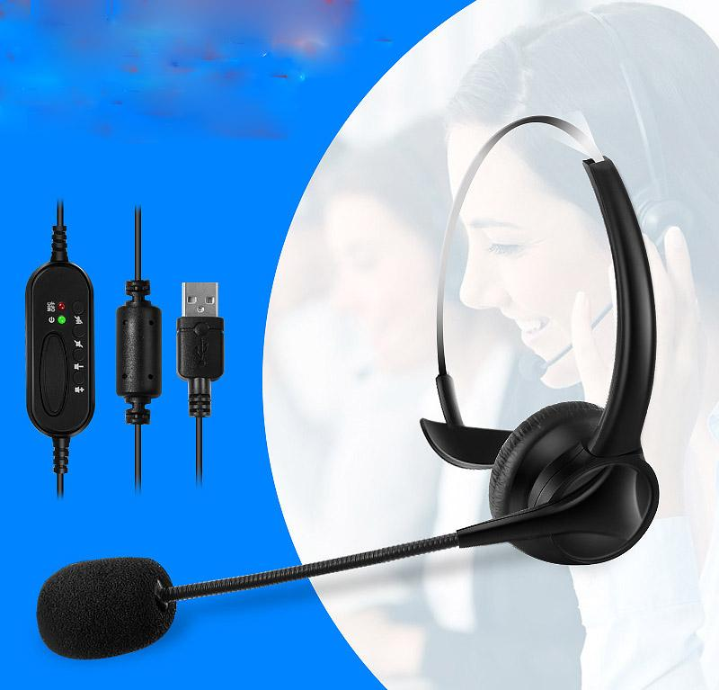 Usb Headset With Microphone Noise Cancelling Computer Pc Headset Lightweight Wired Headphones For Pc Laptop Mac School Kids Wireless Bluetooth Earbuds 50 Cent Headphones From Top01 Electronics 7 6 Dhgate Com