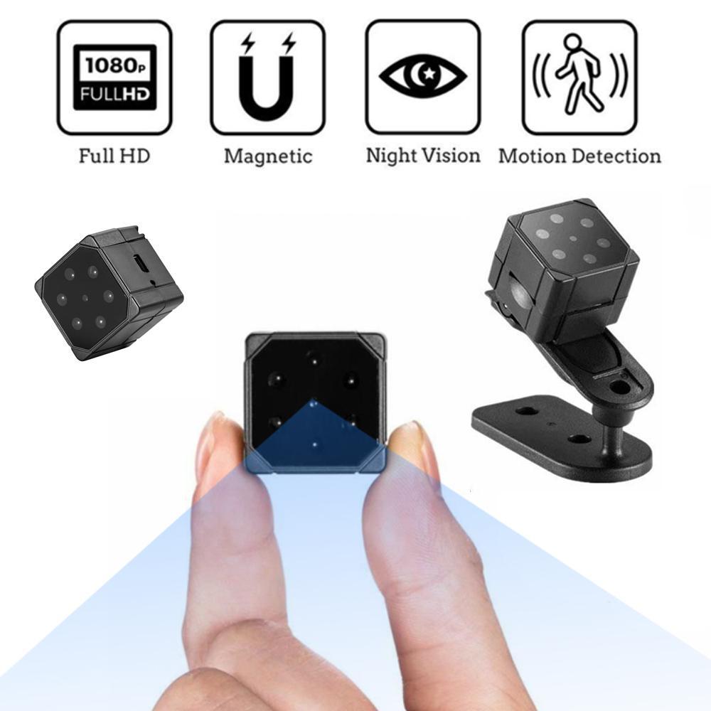 SQ19 HD Mini Vigilancia Cámara de Vigilancia Pequeña Cam 1080P Sensor Visión nocturna Videocámara Mini Video Cámara DVR DV DVR Recorder PK SQ8 SQ12 SQ12