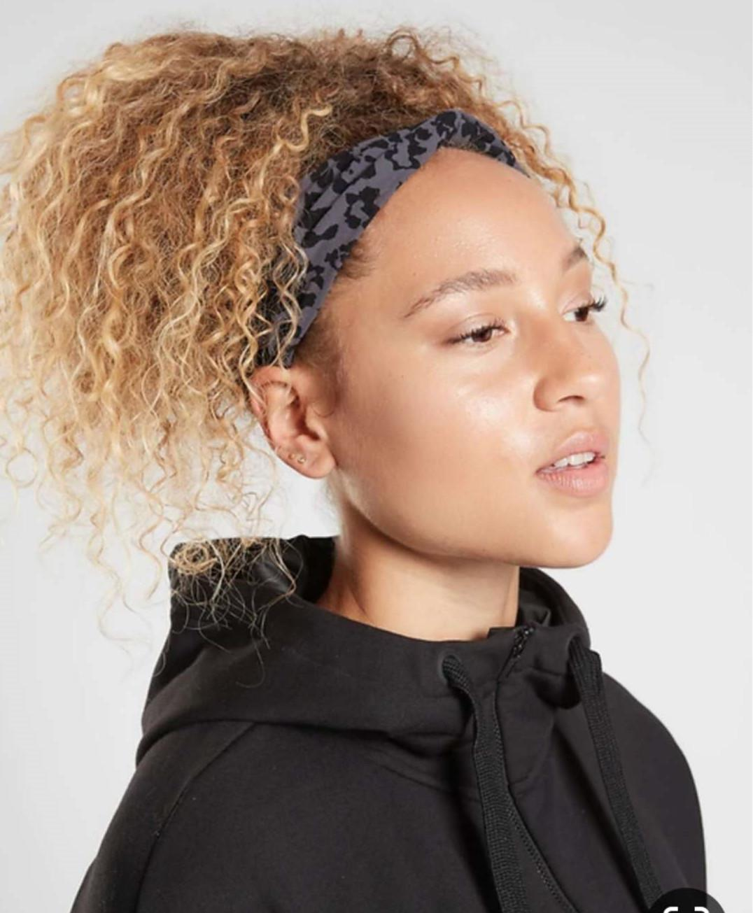 Miele donne bionde ponytail estensione dei capelli afro crespi capelli ricci soffio rosolare bene balayage a 120g bionda