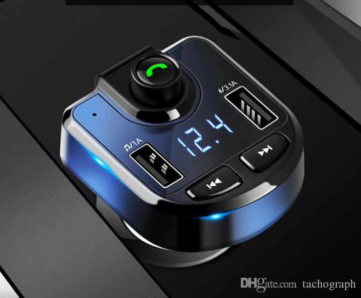 Автомобильные аксессуары Автомобильный MP3-плеер Многофункциональный Bluetooth-приемник громкой связи Автомобильный mp3 Воспроизведение набора времени