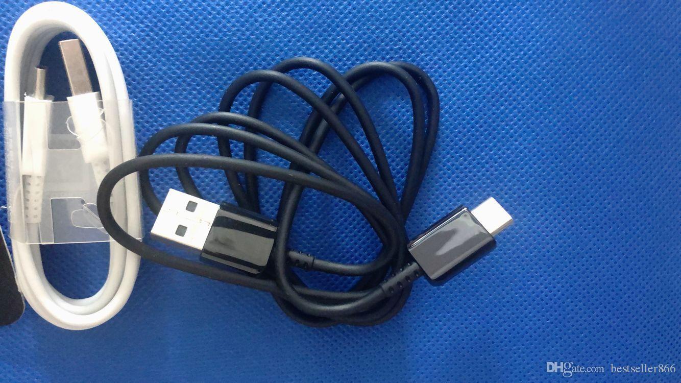 عالية الجودة 1.2M نوع C USB كيبل شحن سريع بيانات كابل مزامنة البيانات محول الخط لسامسونج غالاكسي S8 S8 بالإضافة S10 S9 S10E