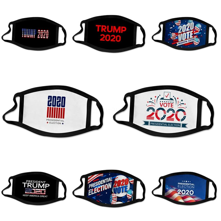 Designer Trump Face Masks Stock Dustproof Pm2.5 Pollution Half Face Mouth Mask With Breath Wide Straps Washable Reusable Muffle Respirato #89