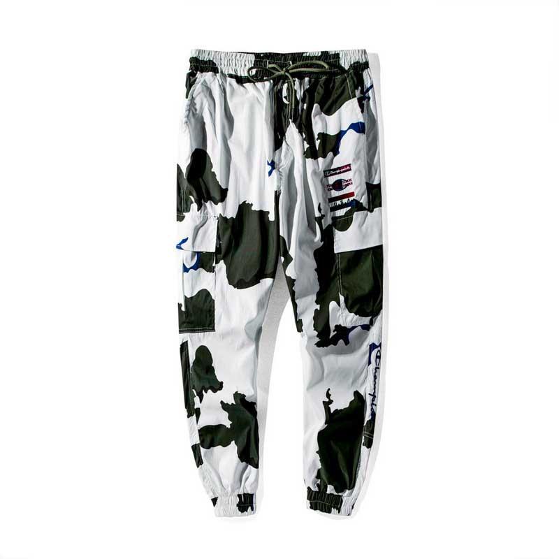 Designer mens pantaloni campioni di ricamo pantaloni da uomo marca uomini all'aperto pantaloni sportivi camuffamento di alta qualità dell'uomo pantalone comodo allentato