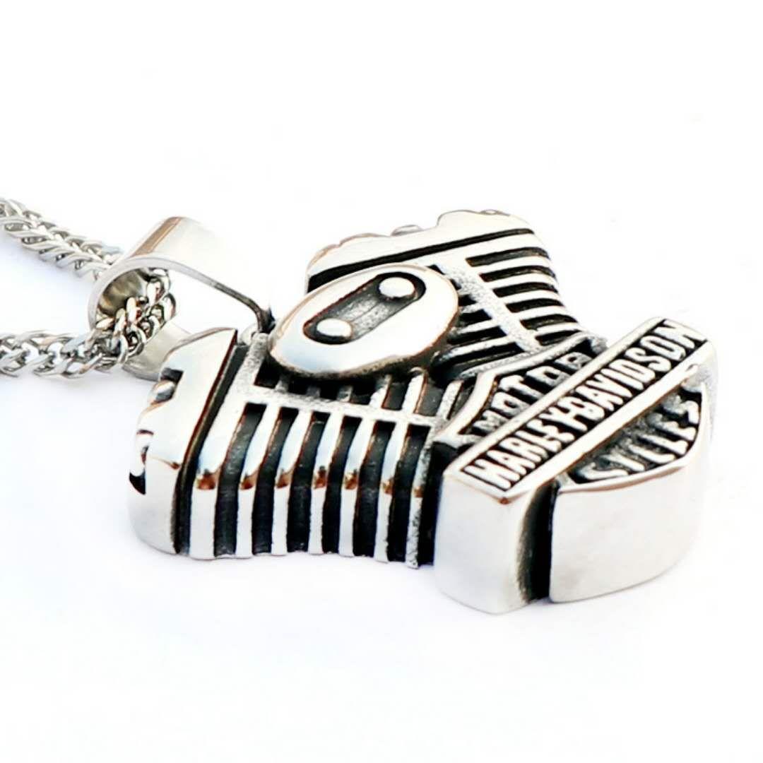 Американский орел крылья ювелирные изделия кулон ожерелье панк готический надписи Harley титана подвески аксессуары.