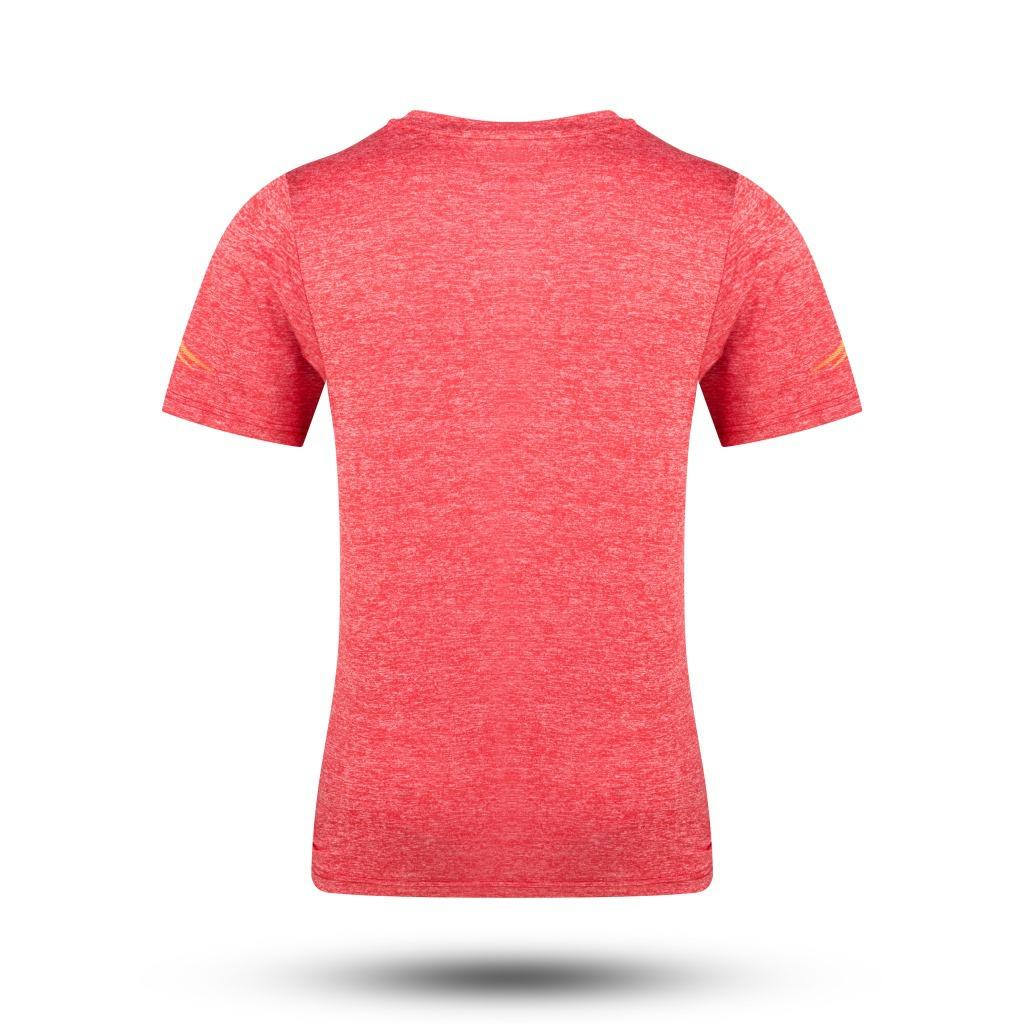 Summer Wear Men And Women Children Cationic Chinese Team Short-sleeved round Collar T-shirt Instructor Sports Clothing Group Clo