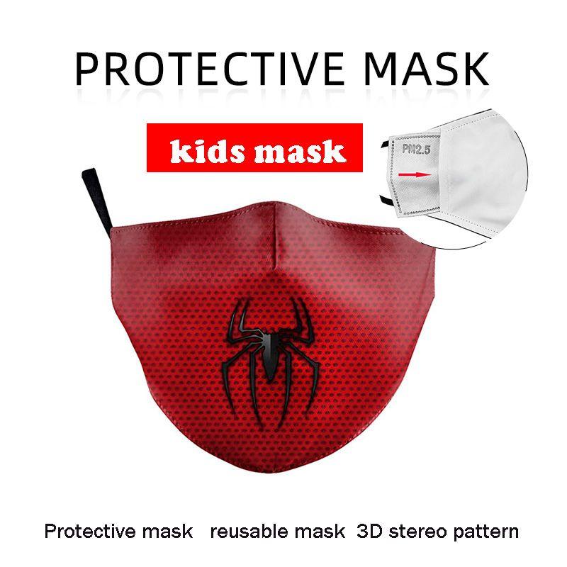 2020 جديد حار بيع 3D الطباعة الرقمية الاطفال قناع الوجه الغبار الضباب الدخاني والدليل على حماية قناع 14:05 تصفية قابل للتعديل قابل للغسل قابلة لإعادة الاستخدام قناع