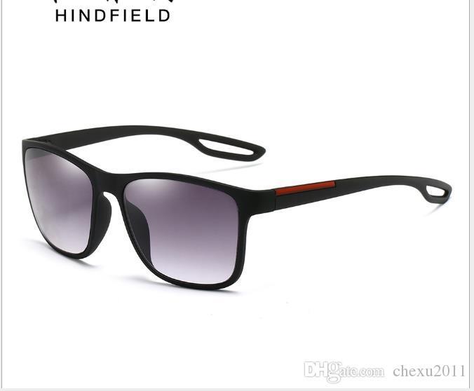 Gafas de sol Gafas Euro-Americanas para mujer Gafas de sol cuadradas de moda para hombres