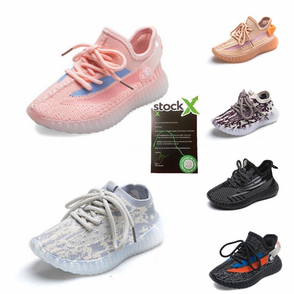 Çocuklar Ayakkabı Beluga 2.0 Koşu Ayakkabı Kanye West V2 Zebra Sneakers Spor Ayakkabıları Erkek Bebek Kız Spor Sneakers Siyah Kırmızı Gri Orange9220 # # 965