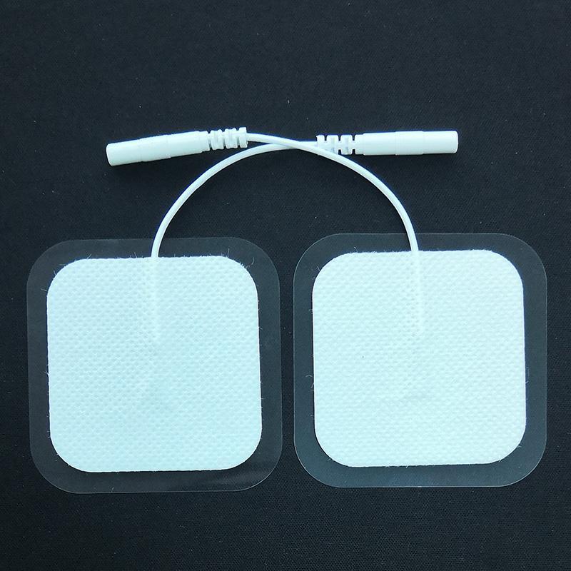 Electrod 패드 2 인치 전극 전극 당 최대 25 회 재사용 가능 Med X 브랜드는 대부분의 TENS 기계 모델과 호환 가능