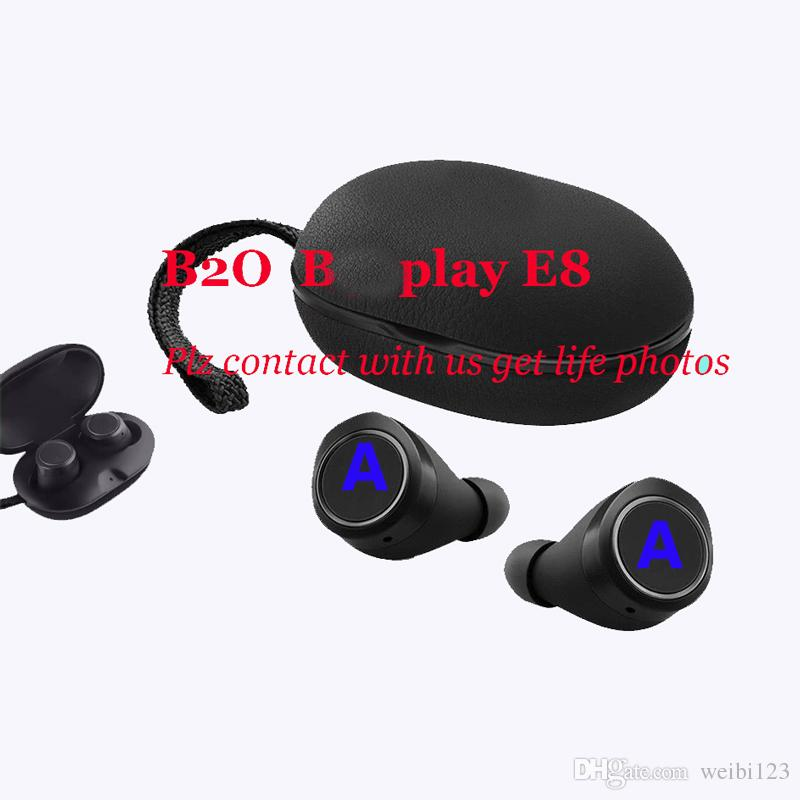 Origin Super quality BO play E8 wireless bluetooth headphones earphones noises reduction wireless earbuds in-ear TWS headset for android ISO