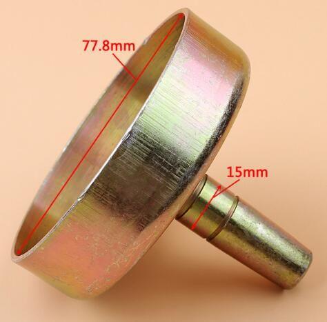 클러치 드럼 7T 9T 사각 적합 CG430 43A BG430 430 TL43 TL52 트리머 트리머 브러시 커터 부품