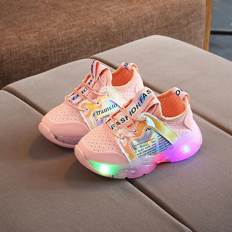 Sneakers Baby Girls Elastic Fabric