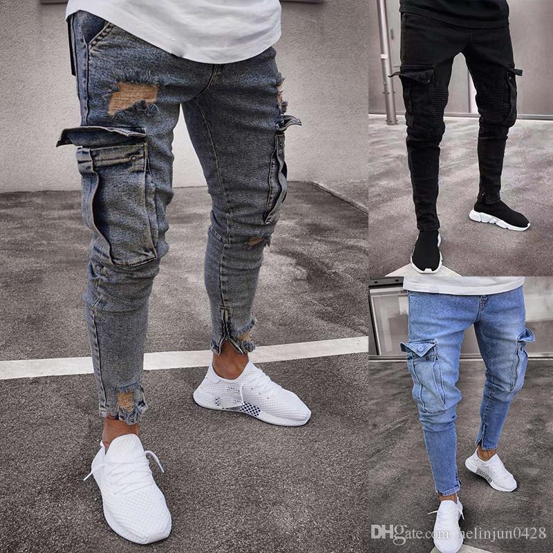 ودود متعمد منطقيا Pantalones Jeans Pitillos Rasgados Para Hombres Interappacad Org