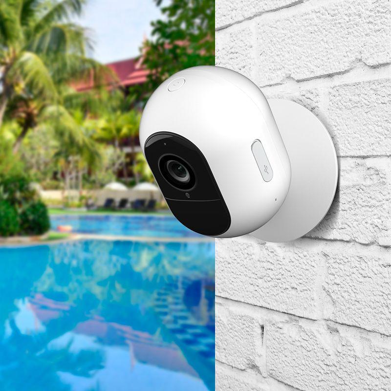 YI 가미 1080P 와이어 무료 IP 카메라 키트 무선 야외 배터리 보안 카메라 모션 감지 나이트 비전 양방향 오디오