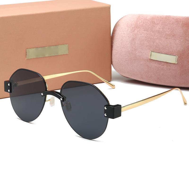 mulheres de luxo designer óculos de sol moda europeus e americanos homens poligonais óculos glassesmens condução womens F3VUVT