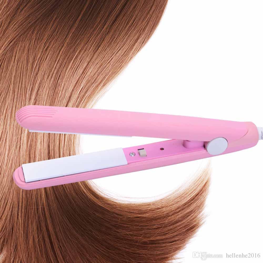 مصغرة الحجم السفر تنعيم الشعر للقصيرة ورقيقة تنعيم الشعر السيراميك الصغيرة المحمولة