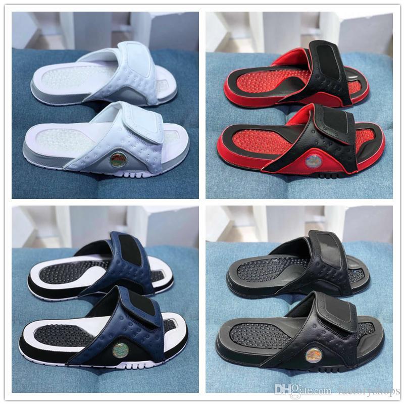 2019 nuevos zapatos de playa Hook Loop 13 XIII zapatillas sandalias hombres zapatilla de verano tamaño de los deslizadores 36-45