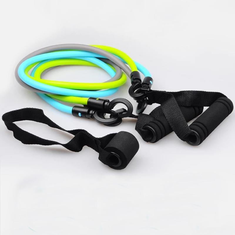 Fitness elastic belt for tension belt elastic rope yoga male and female resistance stretch