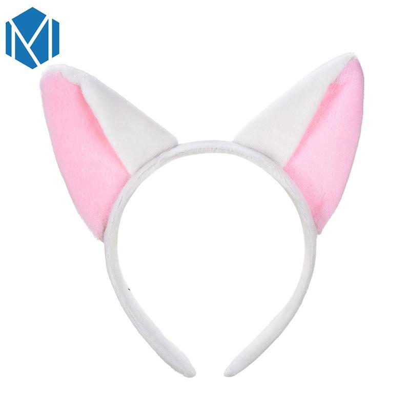 Women Girls Creative Hair Bands Lovely Fox Ears Plush Headband Cosplay Party Hair Accessories Headwear Hairband