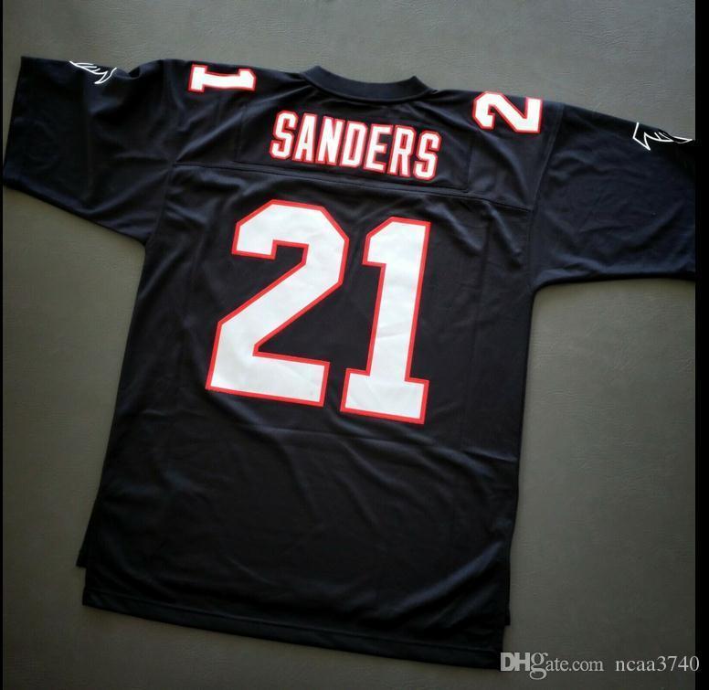 Benutzerdefinierte Männer Jugend Frauen Deion Sanders Legacy-Fußball-Jersey-Größe s-4XL oder benutzerdefinierte beliebige Namen oder Nummer Jersey