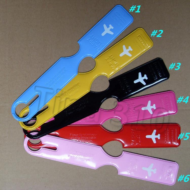 новая дорожная багажная бирка чемодан бирки самолет печатные английские буквы PatternCases держатель карты аксессуары творческая вечеринка T2I5381