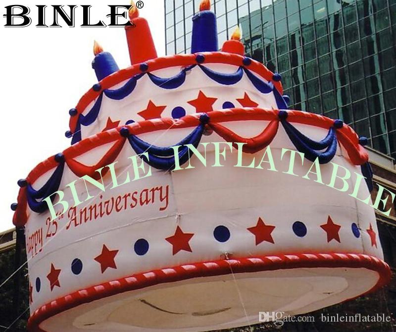 Brilliant 2020 Custom Made Oxford Giant Inflatable Birthday Cake With Birthday Cards Printable Inklcafe Filternl