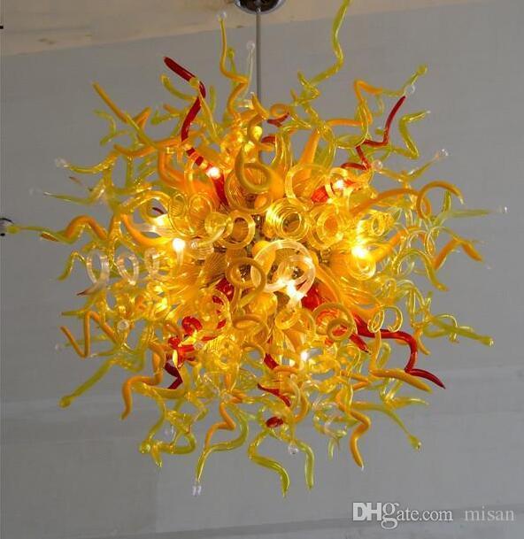 Made in China Lampade a risparmio energetico LED Murano personalizzato personalizzato lampadario di cristallo di piccole dimensioni per l'arredamento del salotto