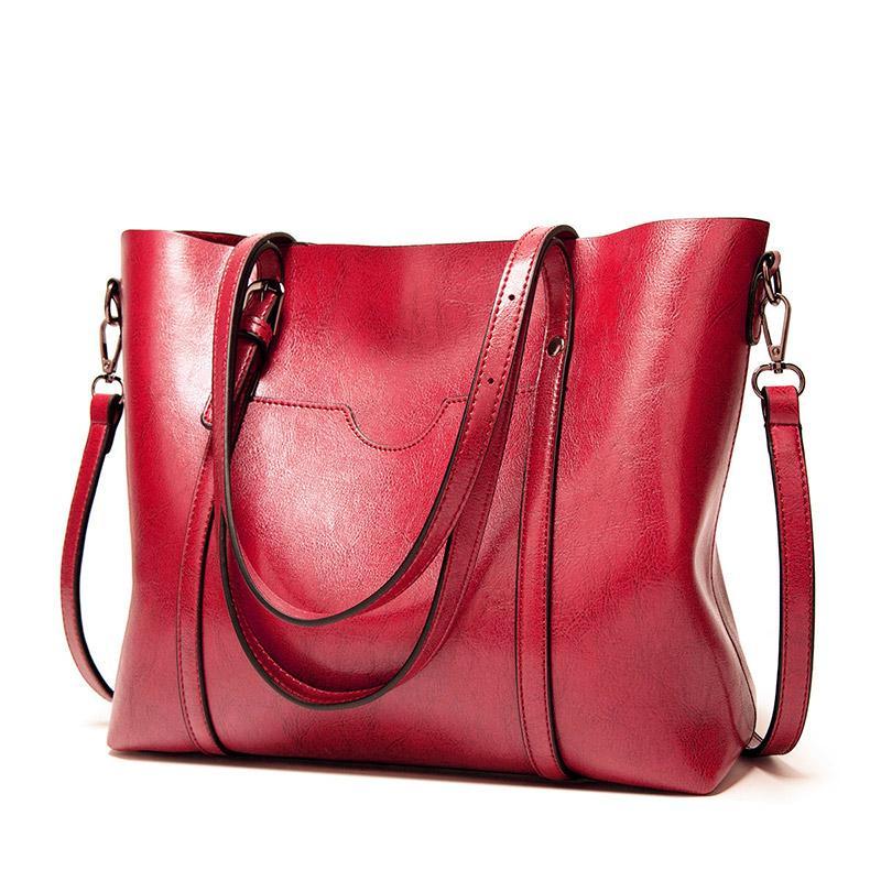 Сумки Bols Lady Женщины Messenger Pocket Bag Рука Красная Большая Tote Bags Color Tote Bag Sac Кошельки WQQNW