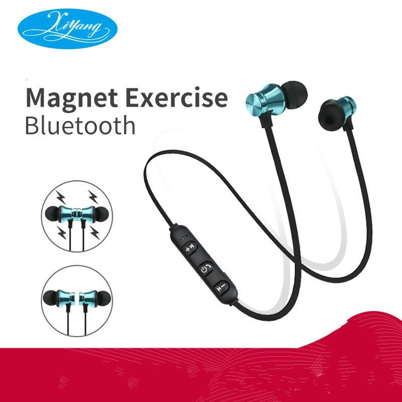 La venta directa de la fábrica XT11 succión magnética auriculares Bluetooth 4.2 inalámbrico deporte auriculares Bluetooth SPOT