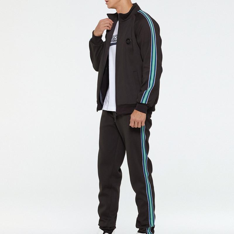 Primavera jogging Tute Imposta Uomini Felpe e Sweatpant 2 pz Tactical Outdoor Set Palestre Jacket + Pants Casual Sportswears