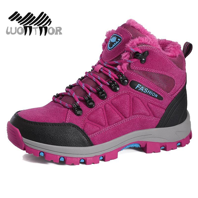 Chaussures de randonnée Femmes Bottes de randonnée imperméables Tactique Extérieur Escalade Sports Baskets Chasse Professionnel Dropshipping