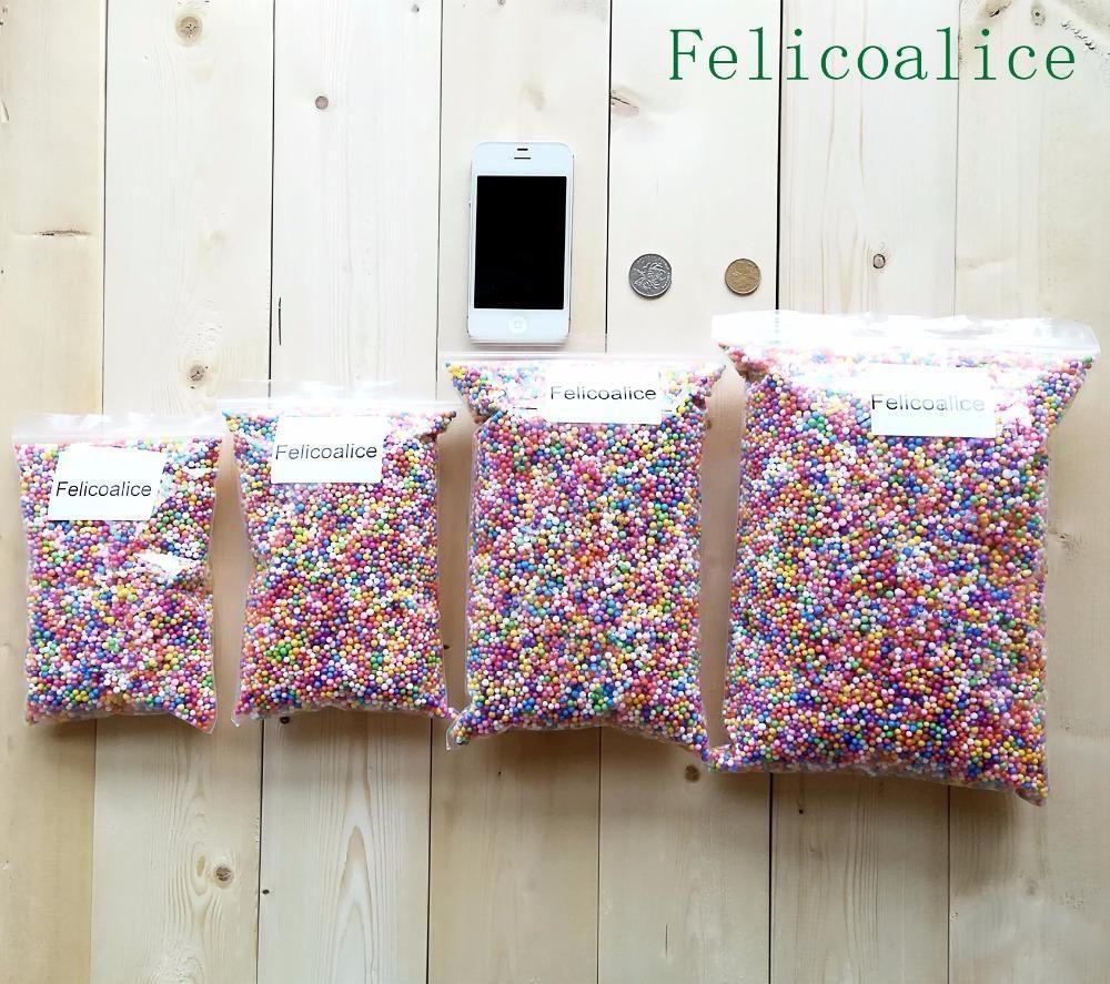 15g Lot 200000pcs 2-4mm Mini Styrofoam Foam Balls for Wedding Party DIY Decoration Accessories SC04