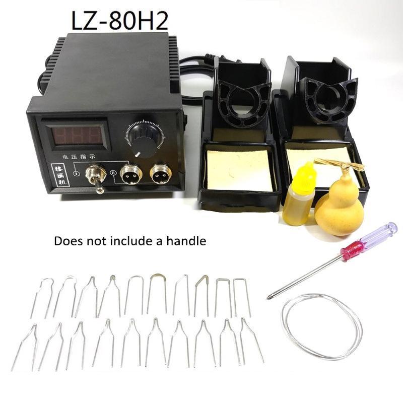 60W AC 220 V Affichage numérique poêle à bois pyrogravure Pen Brûler machine Gourd Crafts Tool Set avec adaptateur à souder UE