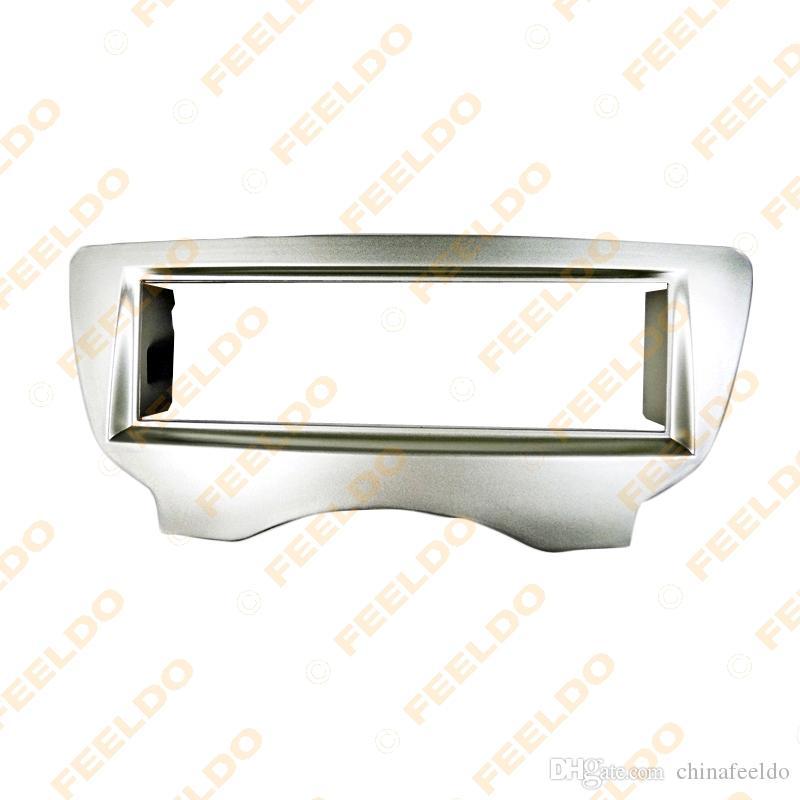 Car Radio Stereo 1DIN fascia Réaménagement Cadre Panneau Facia pour 2012 BYD Black Silver # F0 2188