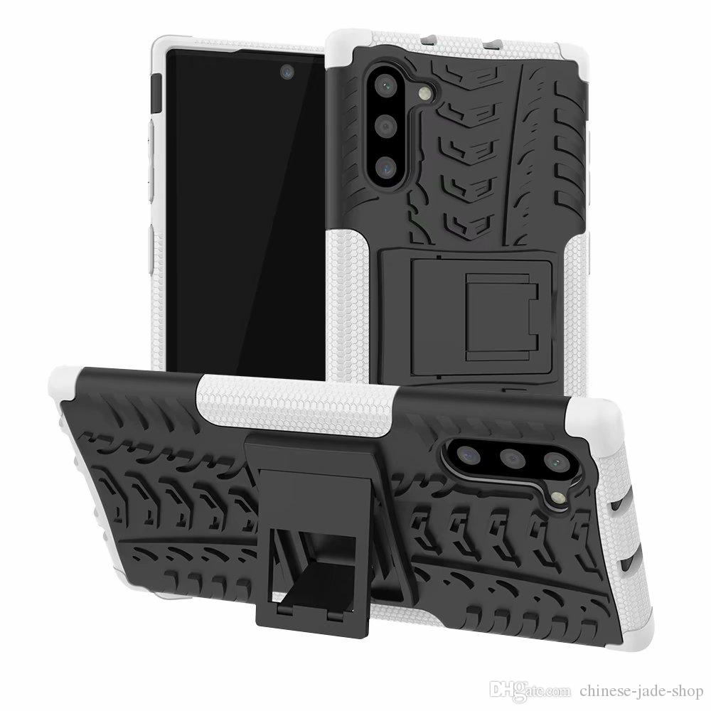 Hybrid KickStand Impact Rugged Heavy Duty TPU+PC Shock Proof case Cover FOR Samsung Galaxy Note 10 Note 10 pro NOTE 20 PLUS 160PCS/LOT