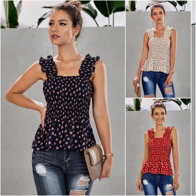 Designer Femmes Débardeurs Filles Marque Mode Imprimer Top Femmes Mode Casual Top Vêtements quotidien Outwear Femmes d'été T-shirts Mode