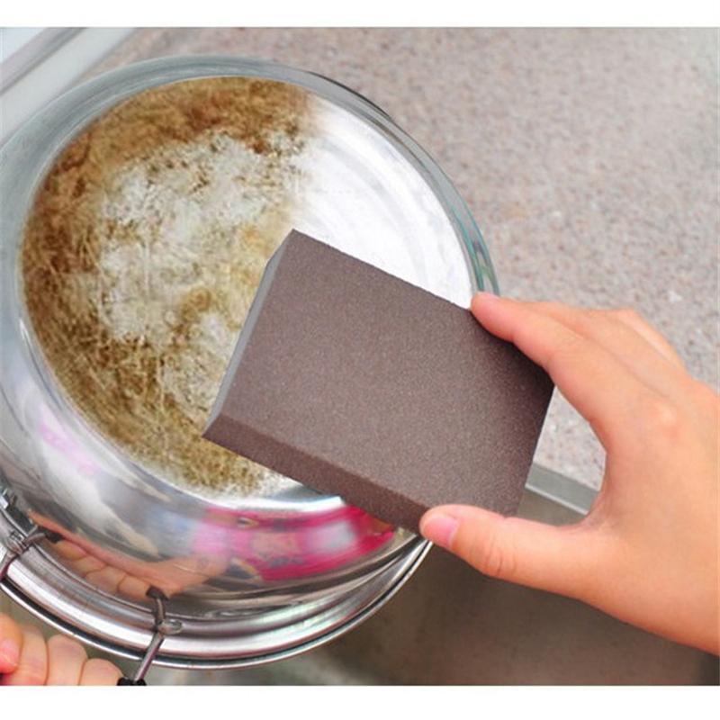 Limpeza da cozinha Eraser Pot Nano Esponja De Limpeza Multi-funcional Descalcificação Stains Sand Sponge Ferramentas de Limpeza Doméstica
