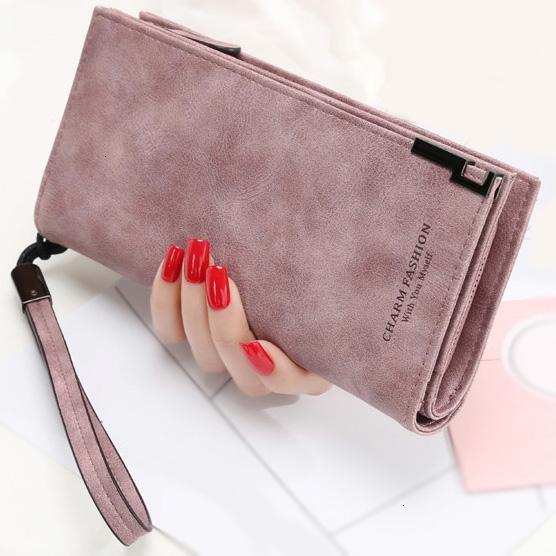 Женщины бумажники повелительница ремешок сумка Длинных денег сумка на молнию Портмоне карты ID Holder Женщина сцепления кошелек кошель NoteCase SH190918