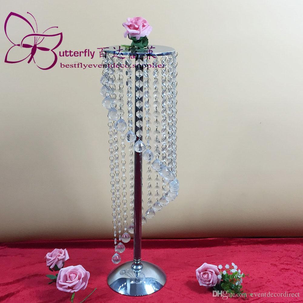 """27.5"""" tabla de la boda de altura de la pieza central del camino plomo Flower Stand casa decoración de Navidad para sala de estar"""