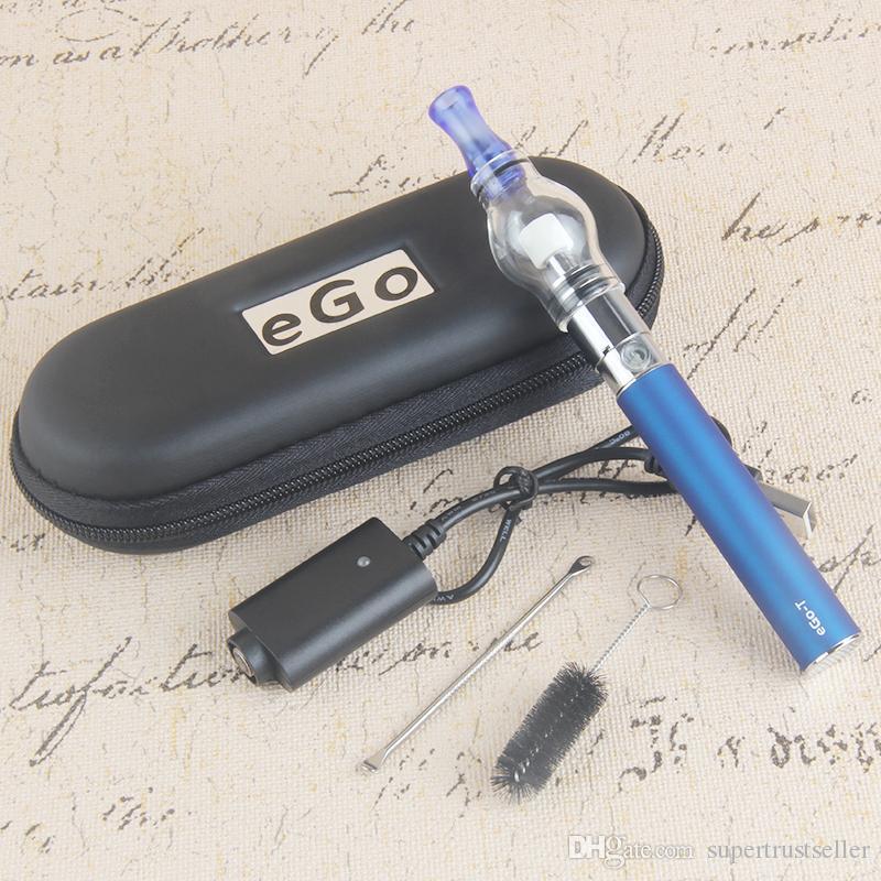 Dab Dome Vaporizzatore portatile Wax Vape Pen vetro globo Waxy Oli e sigaretta Compact ego t Batteria sigaretta elettronica vs ego ce4