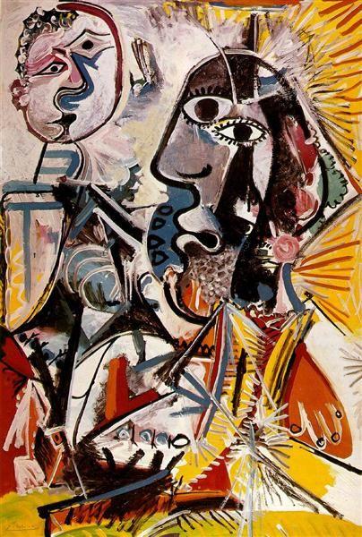 Пабло Пикассо Классическая картина маслом Большие головы Grandes Tetes 100% ручной работы опытных Painter на белом холсте Picasso069