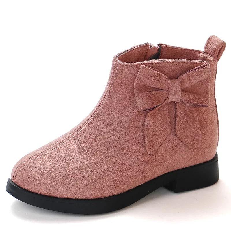 JGSHOWKITO Autumn Winter Girls Boots