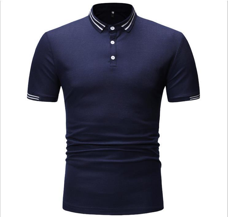 2020 Fashion Brand designer polos men Casual t shirt Embroidered Medusa Cotton polonk 2c Shirt High street collar Luxury Polos shirts